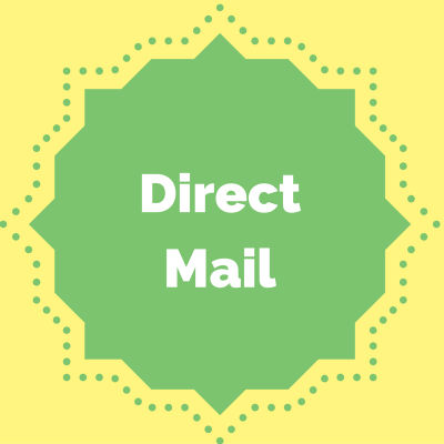 How to promote an online donation page: direct mail