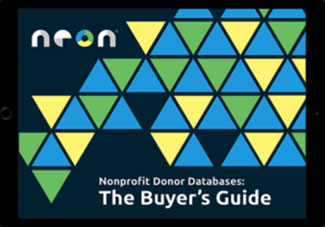 Neon Donor Database Buyer's Guide eBook Cover