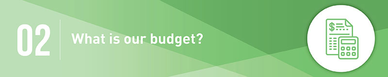 Have a clear idea of your budget before deciding on a fundraising software.