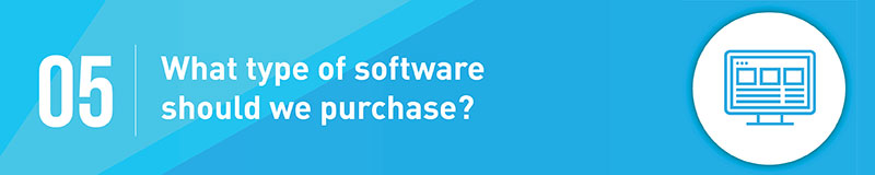 Think about what kind of fundraising software will bebest for your organization before making a decision.