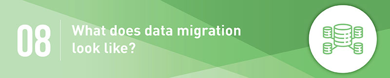 Think about the data migration process to your new fundraising software.