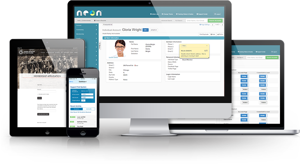 screenshots_NeonCRM
