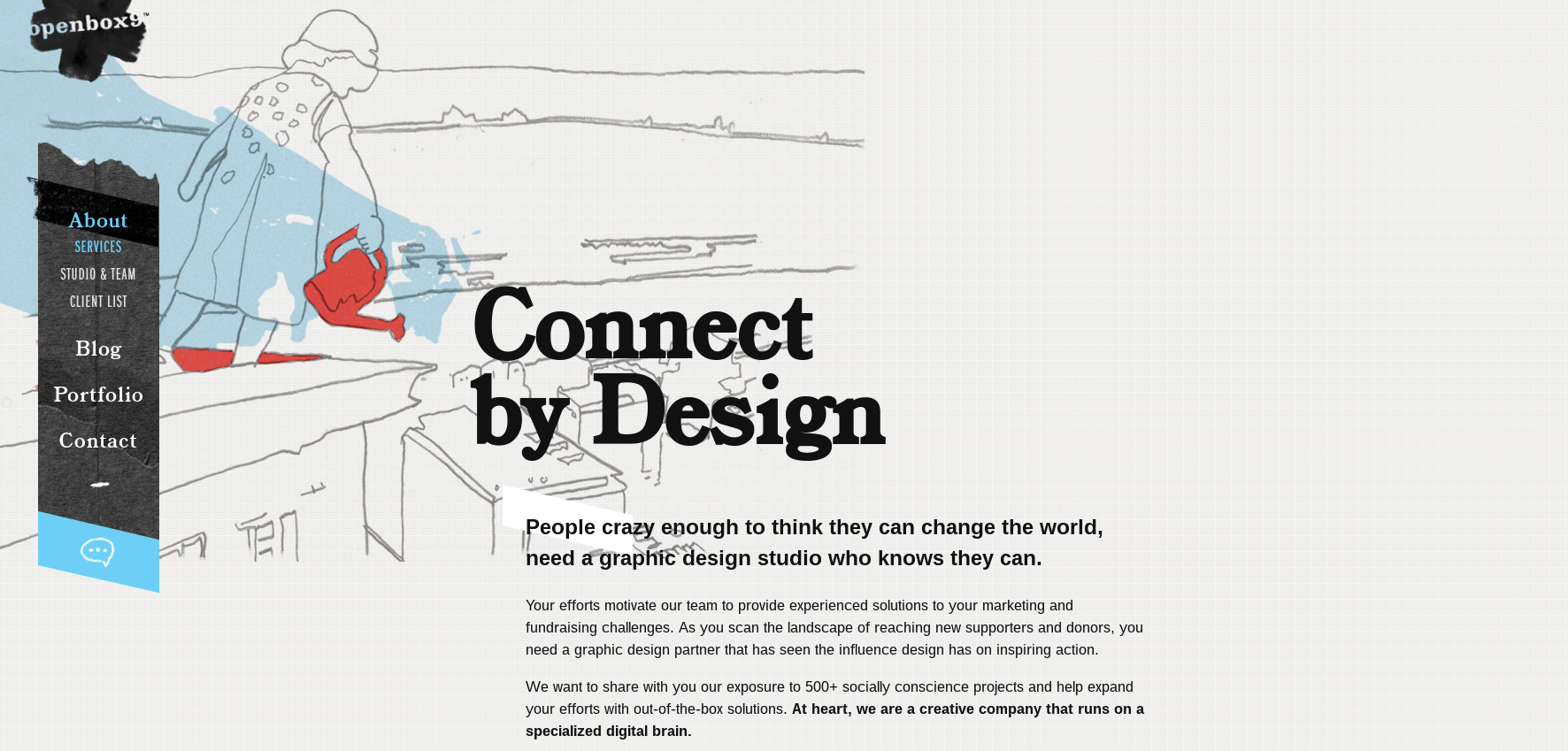 Openbox9 provides creative, out-of-the-box web design solutions to nonprofits.