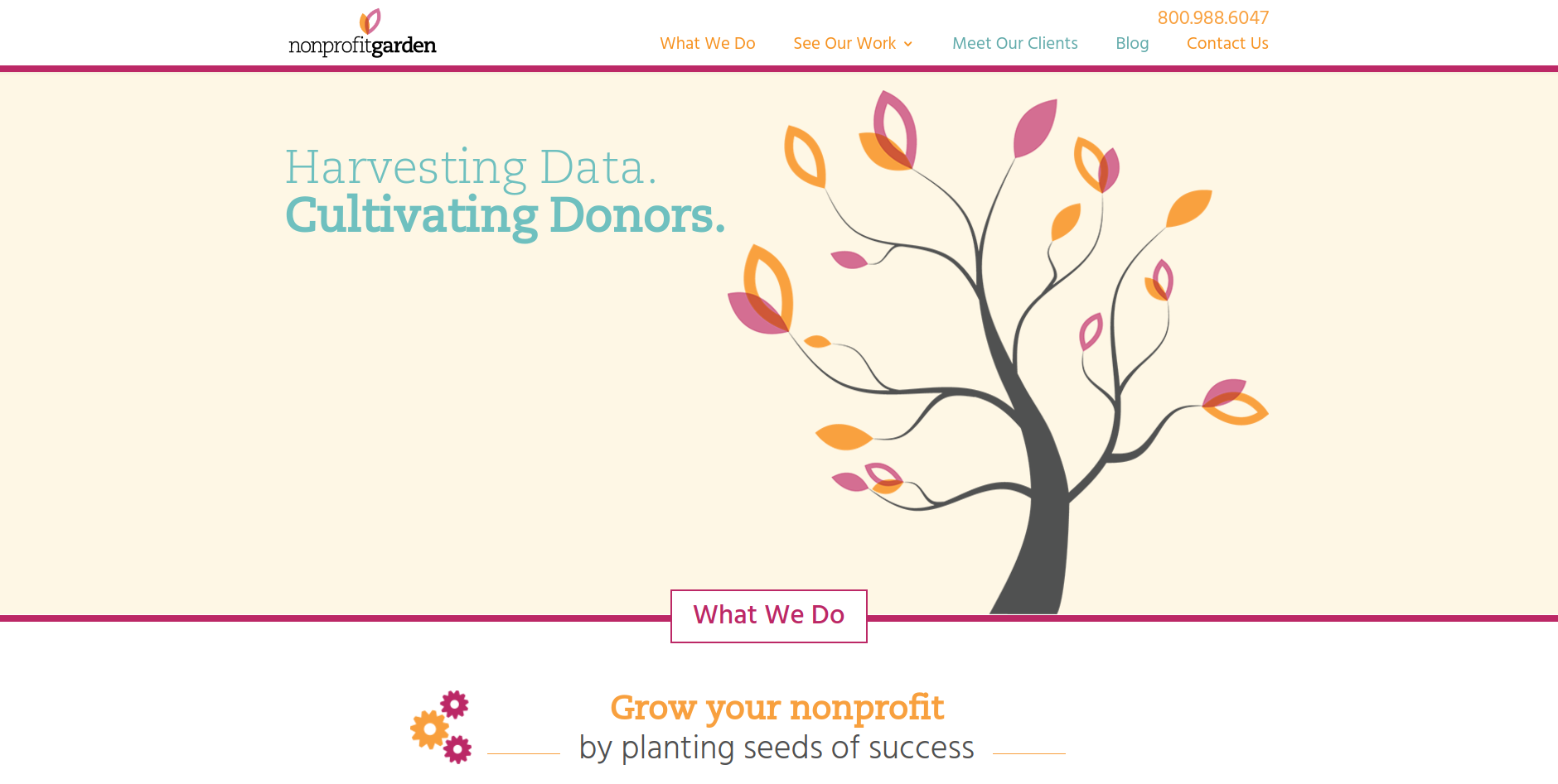 Nonprofit Garden offers web design, consulting, and training services for nonprofit organizations.