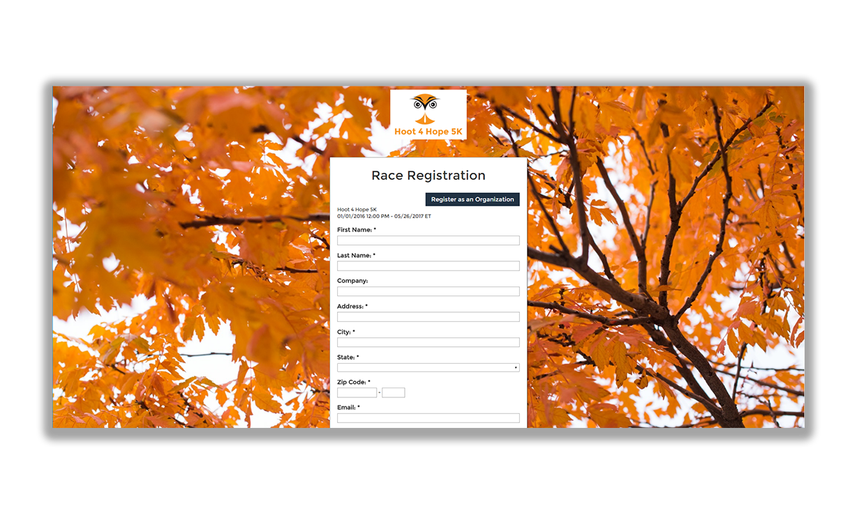 Nonprofit event registration software