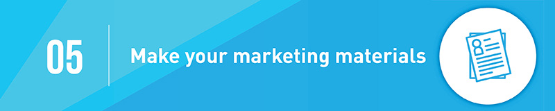 Create marketing materials for your capital campaign.