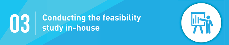 Don't conduct your nonprofit feasibility study in-house.