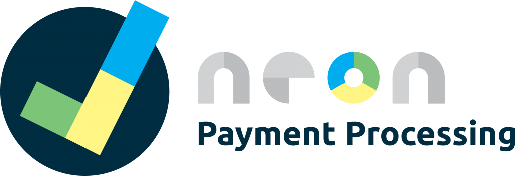 Logo for Neon Payment Processing, offering comprehensive payment processing services designed just for nonprofit organizations.