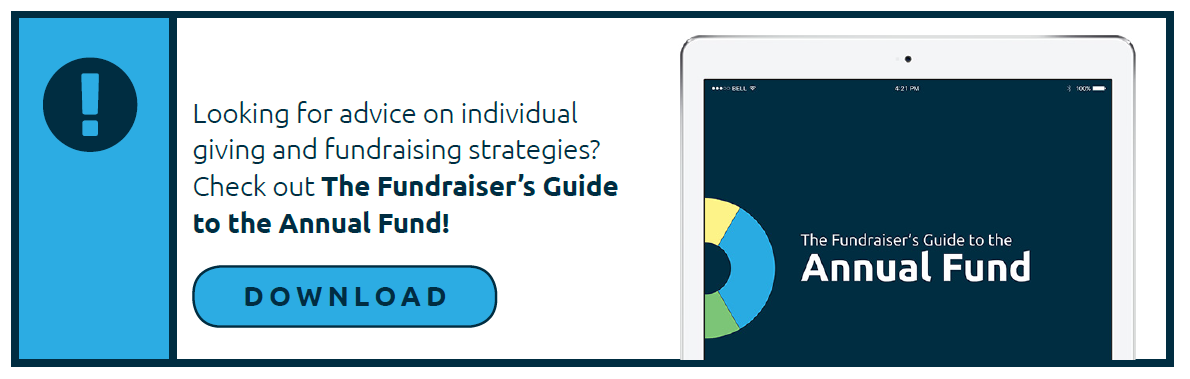 Looking for fundraising tips beyond major giving? Check out The Fundraiser's Guide to the Annual Fund!