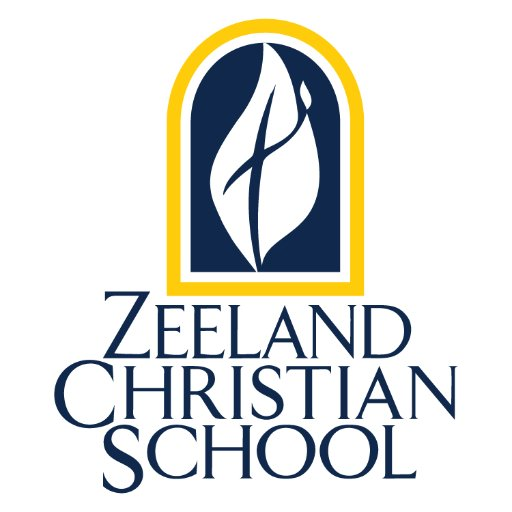 Logo for Zeeland Christian School, a NeonCRM and Inspire website client.