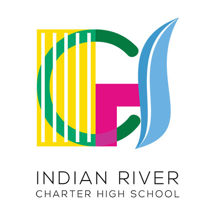Logo for Indian River Charter High School, a NeonCRM and Inspire website client.
