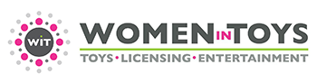 Logo for Women in Toys, a Neon nonprofit CRM and website client.