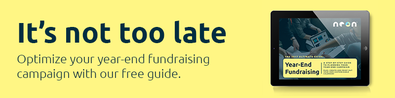 It's not too late! Optimize your year-end fundraising campaign with our free guide.