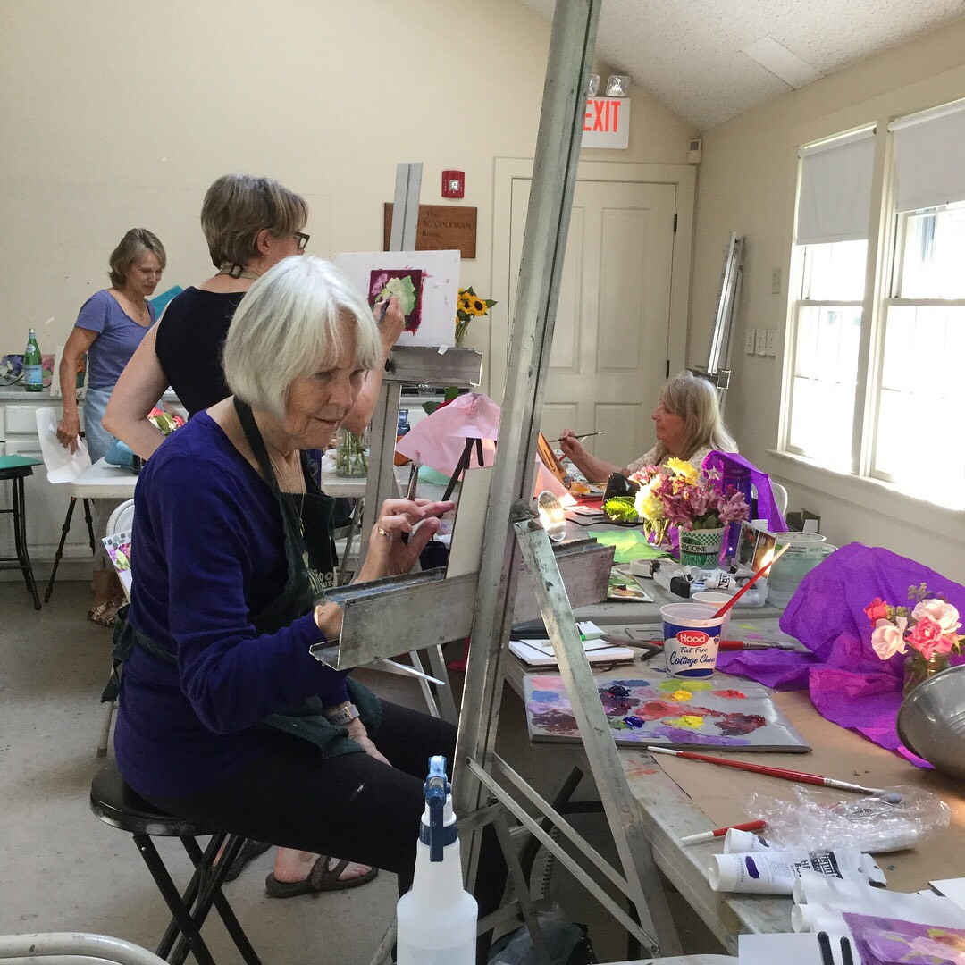 Concord Art offers educational art classes for the local community.