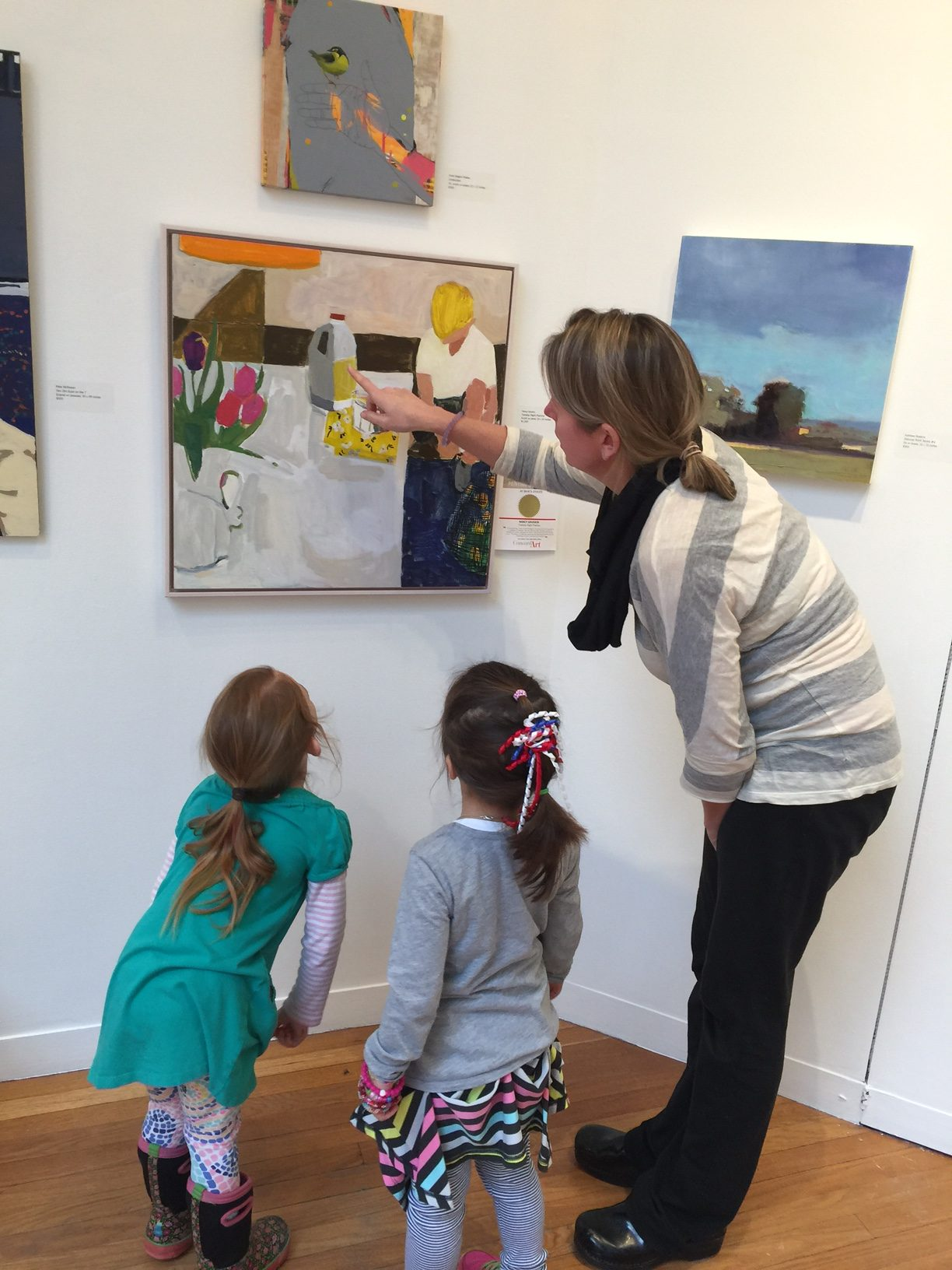 Concord Art hosts several exhibitions, and has a private collection with works by their founder and other artists significant to the organization.