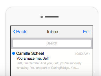 An example of a subject line that appeals to the conversation.