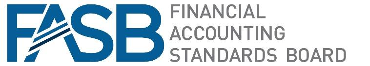 Logo for the Financial Accounting Standards Board (FASB), which establishes and improves generally accepted and accounting principles within the United States.
