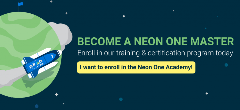 Enroll in The Neon One Academy today!